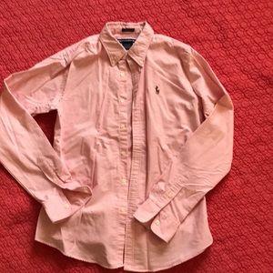 Ralph Lauren pink button up